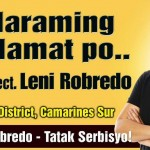 Gov. Joey Salceda Reveals Reasons Why Cong. Robredo Lags Behind other VP Candidate