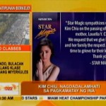 Kim Chiu Thanks Supporters After Her Mother's Death (Video)