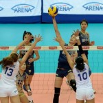 NU Lady Bulldogs Wins First Shakey's V-League Title Against Ateneo