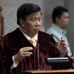 Senator Franklin Drilon Elected as Senate President of the 16th Congress