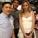 James Yap & GF Michela Cazzola First Public Appearance (Photo)