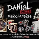 Daniel Padilla Merchandise Available for Sale During Events & Selected National Bookstore Branches