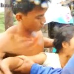 """Purok Leader Punched in Taguig During Evacuation (Viral Video)"
