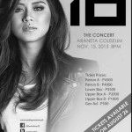 "Sarah Geronimo ""Perfect 10″ Concert Ticket Prices & Details"