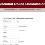 NAPOLCOM Online Application System (OLEASS) Re-Opens Sept. 19, 2013