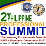PRC Announces 2nd Philippine Professional Summit on October 15-16, 2013