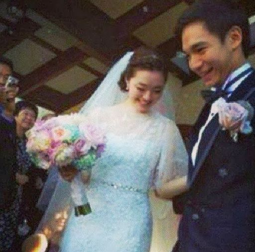 Philippine Viral News And Videos Home: Chris Tiu's Wedding Photo With Clarisse Ong Went Viral