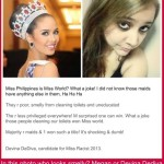 Devina DeDiva Comments Against Filipinos After Megan Young's Miss World Victory