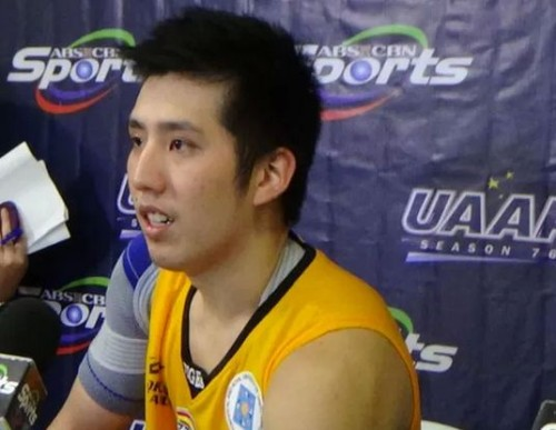 The 21-year-old graduating student of the UST Growling Tigers in the