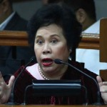 "Sen. Mirriam Defensor-Santiago Questions ""Aquino Administration's Right Path"""