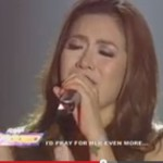 Angeline Quinto Cries Singing Dance with My Father (Video)