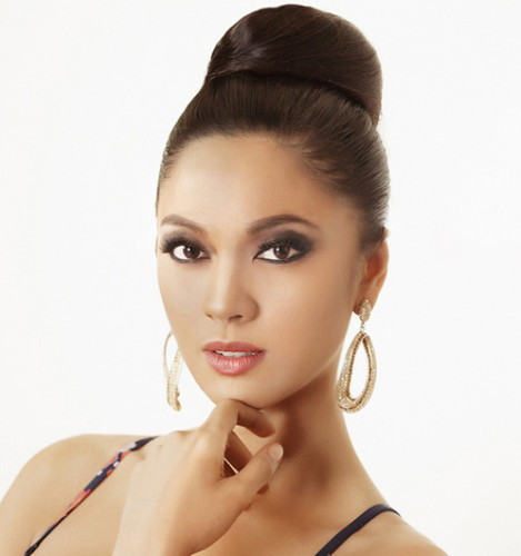 Ara Arida Change Her Picture in Miss Universe 2013 Official Website