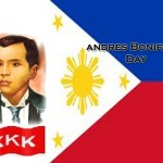 Bonifacio Day November 30, 2013 National Holiday (150th Anniversary)