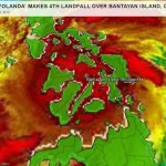 Yolanda Made Fourth Landfall in Bantayan Island Cebu