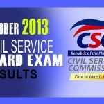 Civil Service Exam Results List of Passers (October 2013) (CSE-PPT)