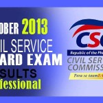 Civil Service Exam Results Topnotchers Professional