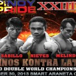 Nietes & Sabillo Dedicates World Title Fight to Yolanda Victims (Pinoy Pride 23)