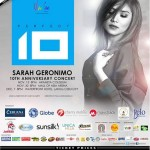 "Sarah Geronimo's ""Perfect 10″ Concert Proceeds Donated to Yolanda Victims"