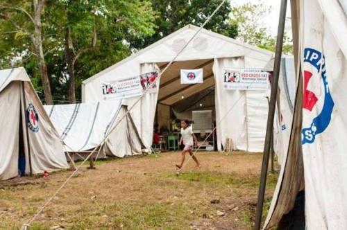 Philippine Red Cross Tent City to Rise in Cebu & Hilongos