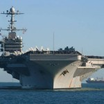 USS George Washington Arrived in the Philippines for Typhoon Haiyan Relief Operations
