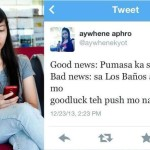 FEU Student Belittling Tweet to UP Los Baños UPCAT Passers