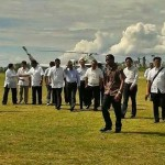 Myanmar President Thein Sein Visits Bantayan Island to Help Typhoon Victims