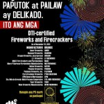 DTI's List of Certified Firecracker & Pyrotechnic Brands