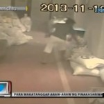 Woman Stealing Relief Goods in Cebu Caught on CCTV Video
