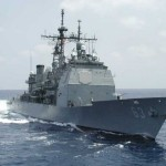 Chinese & United States Warships Nearly Collides