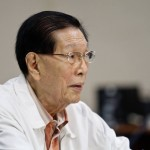 Juan Ponce Enrile: You Can't Force Me to Resign