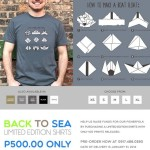 """Bantayan Back To Sea Project"" T-Shirt Now On Sale"