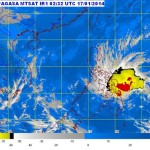PAGASA: Bagyong Agaton Storm Signals & Hourly Update (Jan. 17, 2014)