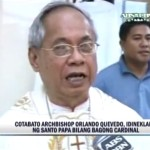 Bishop Orlando B. Quevedo to be Named Cardinal by Pope Francis (Video)