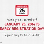 "DepEd: January 25, 2014 ""Early Registration Day"" for SY 2014-2015"