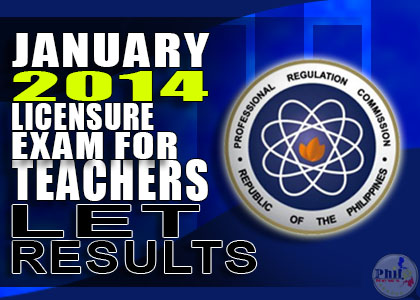 January 2014 LET Exam Results Release Date
