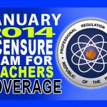 PRC Announced 80,693 Examinees to Take January 2014 LET Exam
