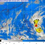 LPA Agaton Expected to Form Into Cyclone (PAGASA Jan. 16)