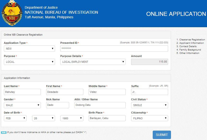NBI Clearance Online Procedure: How To Apply 2014 - Philippine News