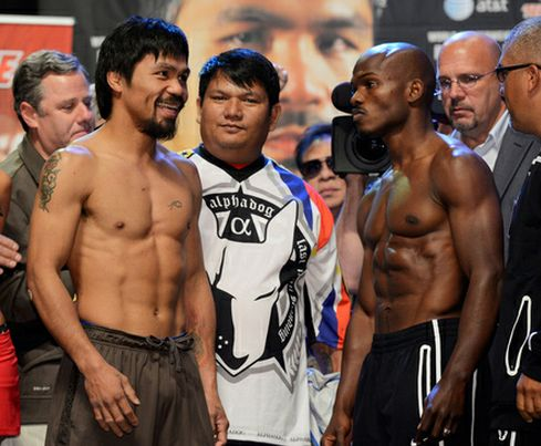 The Pacquiao-Bradley fighting details is soon to be announced  however    Manny Pacquiao Vs Timothy Bradley April 12