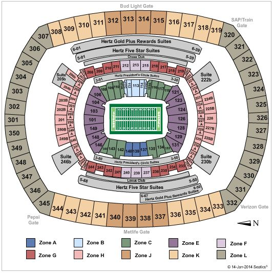 Super Bowl 2014 tickets