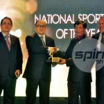 Basketball Cagers, Patron Honored in PSA Awards