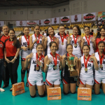 NCR Reigns Again In Shakey's Girls Volleyball League