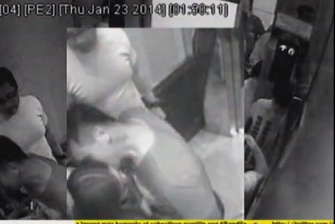 CCTV Footage Caught Cedric Lee Kissing Deniece Cornejo (Video)
