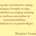 Deniece Cornejo Returns to Twitter & Instagram