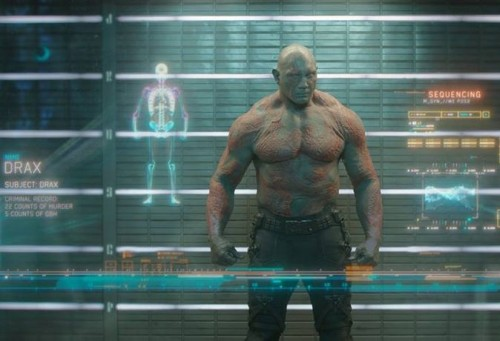 Dave Battista Guardians of the Galaxy