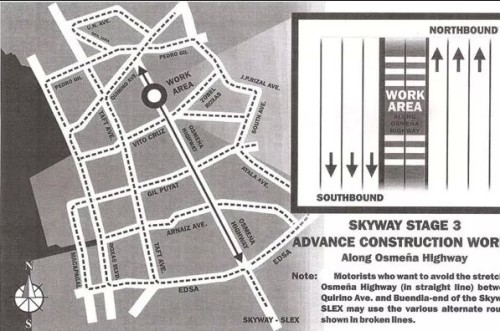 Manila Skyway Construction Traffic Re-Routing Plans Revealed