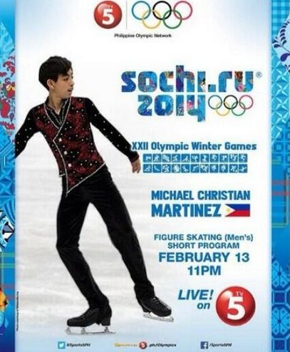 Michael Christian Martinez Live on TV5 for Figure Skating (Men's) Short Program