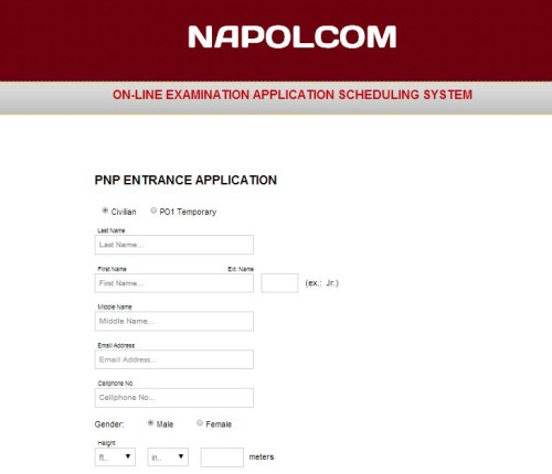 Napolcom Online Application Schedule Oleass Opens Feb