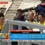 Pres. Aquino First President to Visit Bantayan Island (Video)