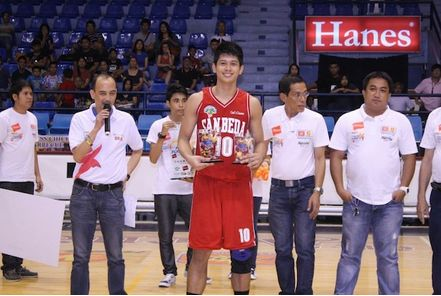 Mocon, Tongco Signs for San Beda Red Lions